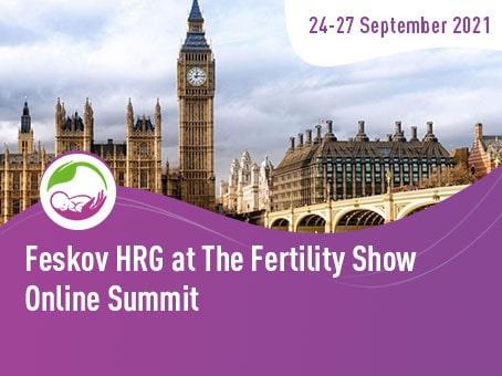Feskov Human Reproduction Group parteciperà a  The Fertility Show - Centro di donazione e Maternità surrogata clinica del professor Feskov A.M.